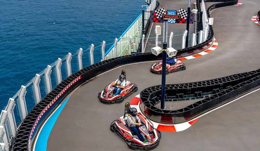 Cruise Ship Activities Taking Thrills at Sea to the Next Level