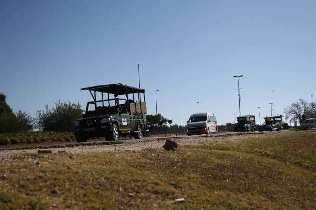 SOUTH AFRICA: 'Open Borders' South Africa Tour Operators Protest