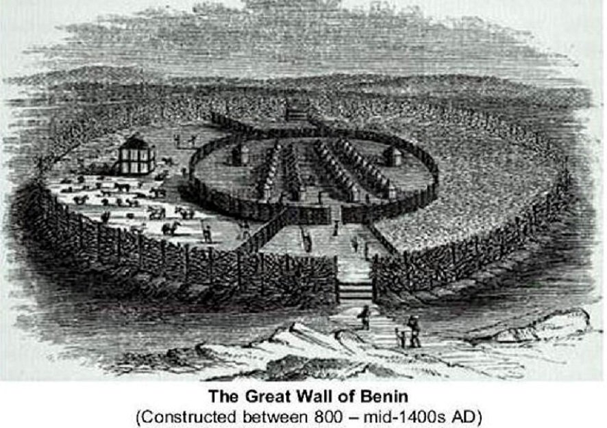 The Great Wall of Benin City is The Longest