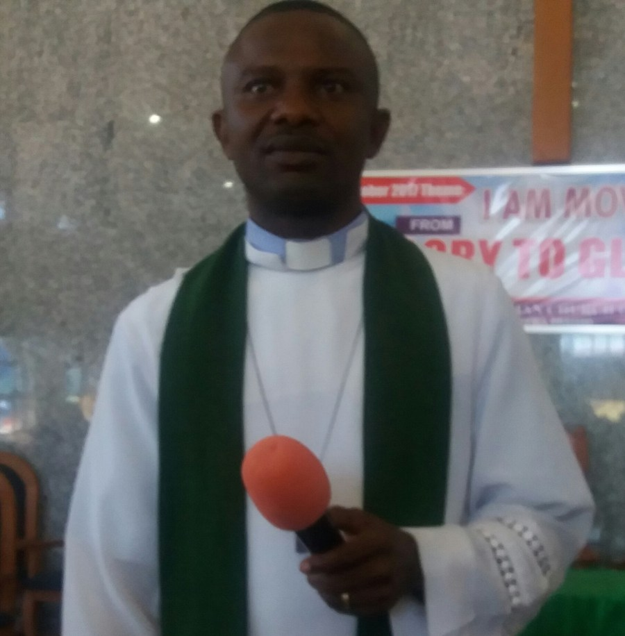 Abuja-based priest, Rev. Edet E. Umoh speaks about Jonathan