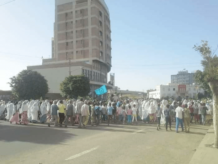 Protest in Asmara Against Afwerki