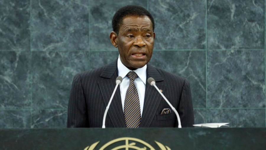 Teodoro Obiang Nguema Mbasogo, President of the Republic of Equatorial Guinea PHOTO: AFP