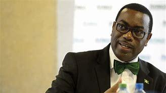 The President of African Development Bank (ADB), Dr. Akinwunmi Adesina