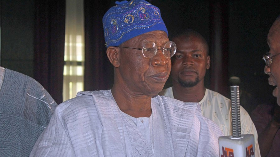 Lai Mohammed confirmed 110 girls are missing