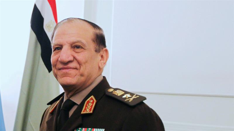 Sami Anan, 69, had been accused by the Egyptian army of 'incitement against the military' [File: Reuters]