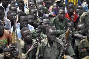 Children soldiers in South Sudan