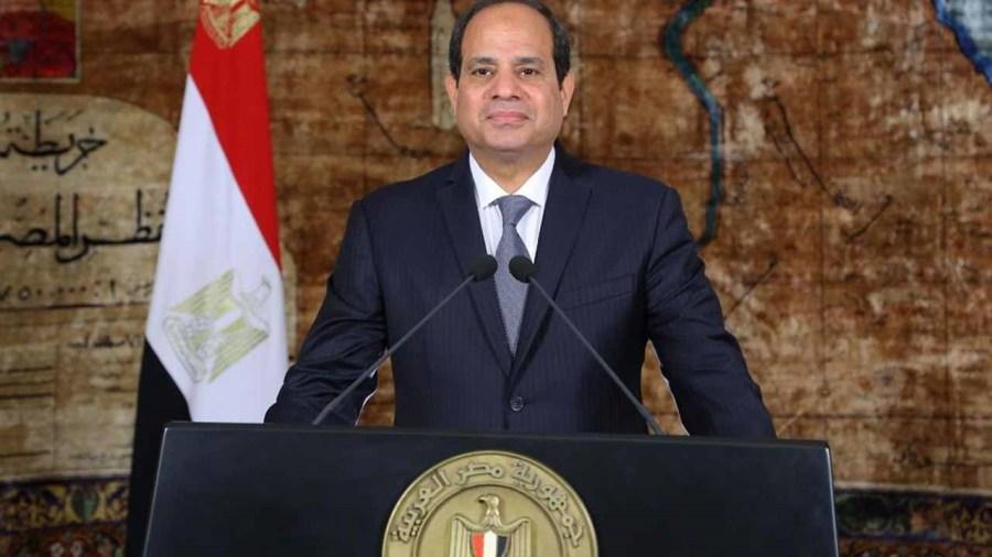 Egypt's President Abdel Fattah al-Sisi. PHOTO: AFP