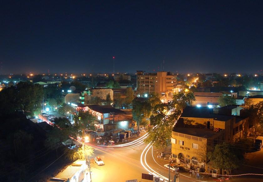 A night view of Kumasi. Credit/ How Ghana