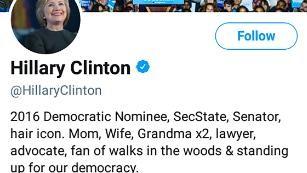 Hillary Clinton's new bio