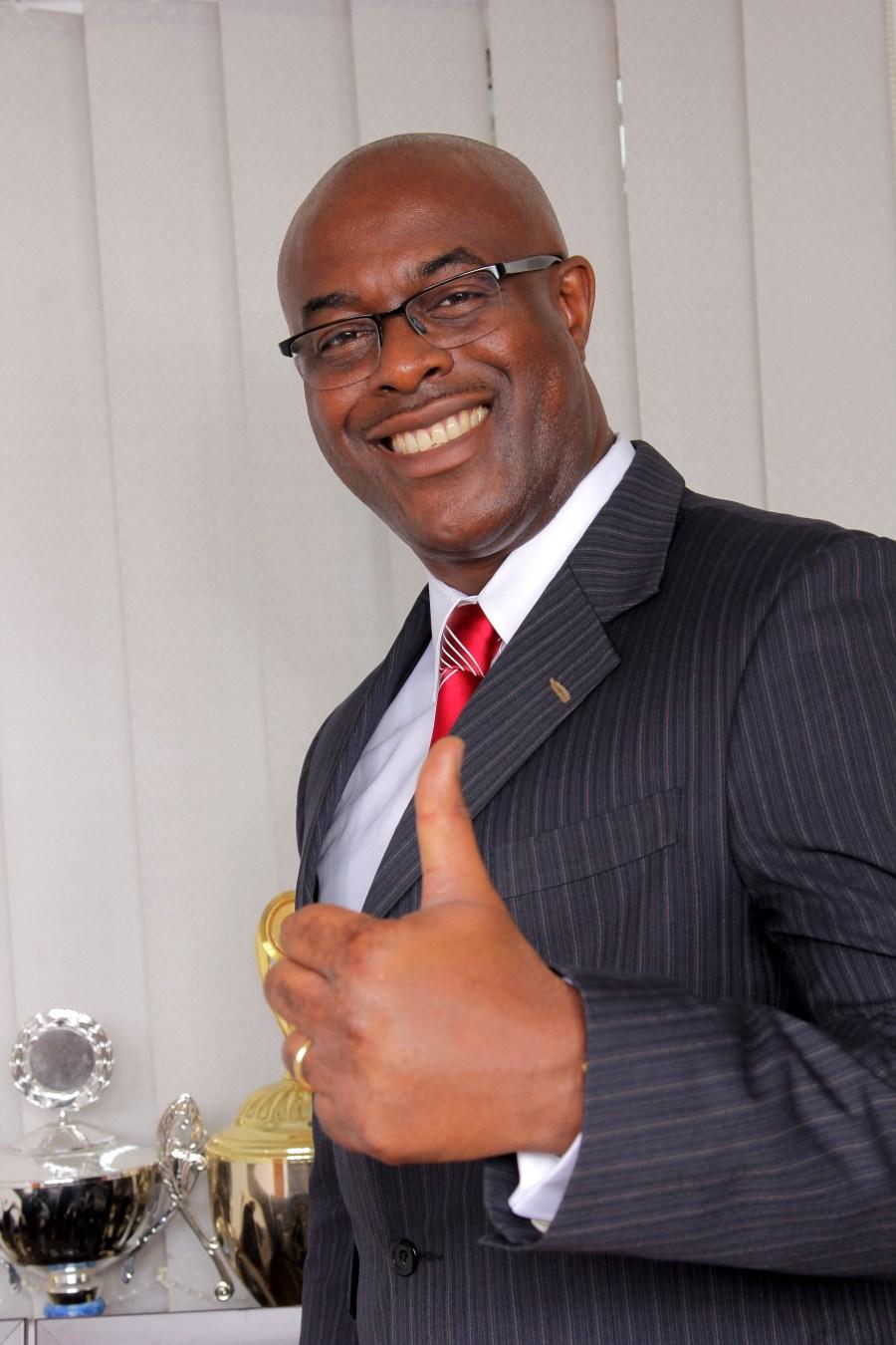 Mr Kelechukwu Mbagwu, NRFF President