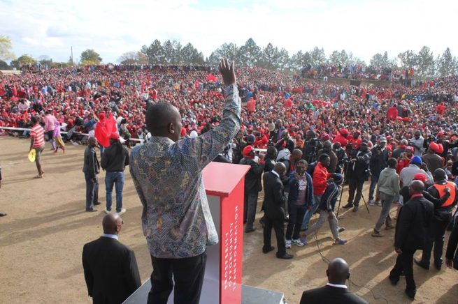 """Mnangagwa was declared winner of the recent presidential election by the Zimbabwe Electoral Commission (ZEC), saying there was """"no skulduggery"""". But Chamisa faulted the results even before the results were released."""