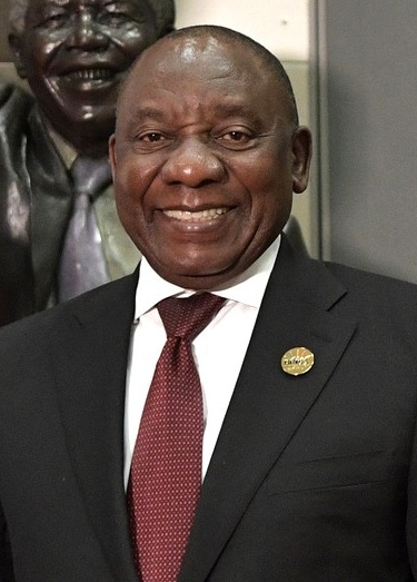 South Africa President, Cyril Ramaphosa