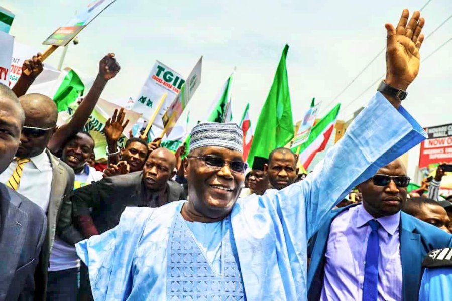 PDP Primaries has produced Atiku Abubakar as PDP presidential flag bearer in 2019