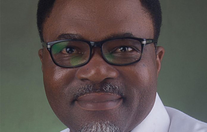 Ikeogu Oke, winner 2017 Nigeria Prize for Literature, an annual competition sponsored by NLNG. [Photo credit: Independent Newspapers Nigeria]