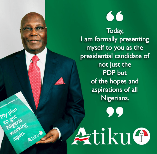 Atiku Abubakar has launched his presidential campaign today in Yola,