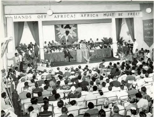 The first All Africa People's Conference held in Accra in 1958 to draft the resolution on imperialism and colonialism. Photo: RR