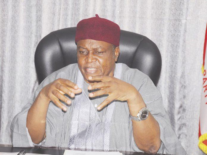 PDP Governor of Taraba State, Darius Dickson Ishaku