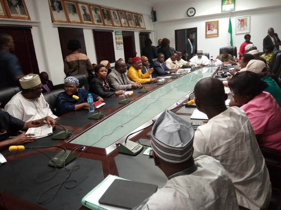 ASUU Strike: Lecturers meet Nigerian govt delegation. Credit Premium Times