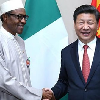 Buhari and Xi Jinping of China