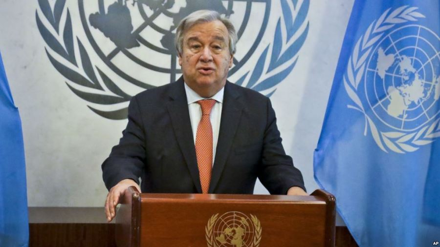UN's Guterres says there is 'Wind of Hope' in Africa