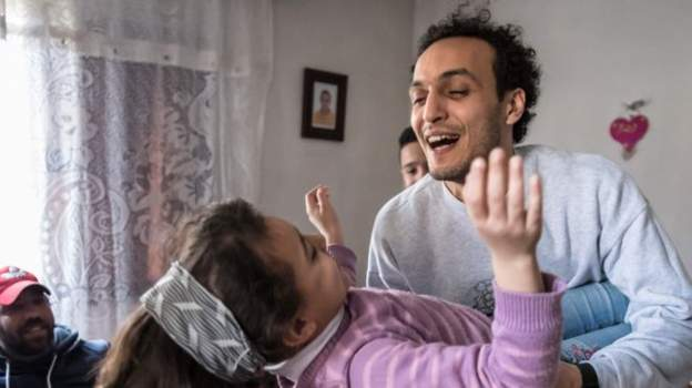 Egypt's super photojournalist, Shawkan, released after 5 years