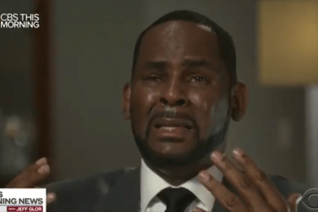 """EMOTIONAL R KELLY INTERVIEW: """"I didn't do this stuff"""""""