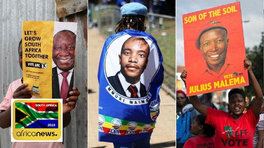 The ANC, DA and EFF are top contenders