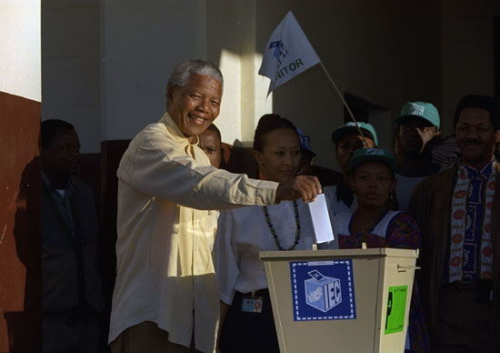 The African National Congress (ANC) has won every parliamentary election since 1994,