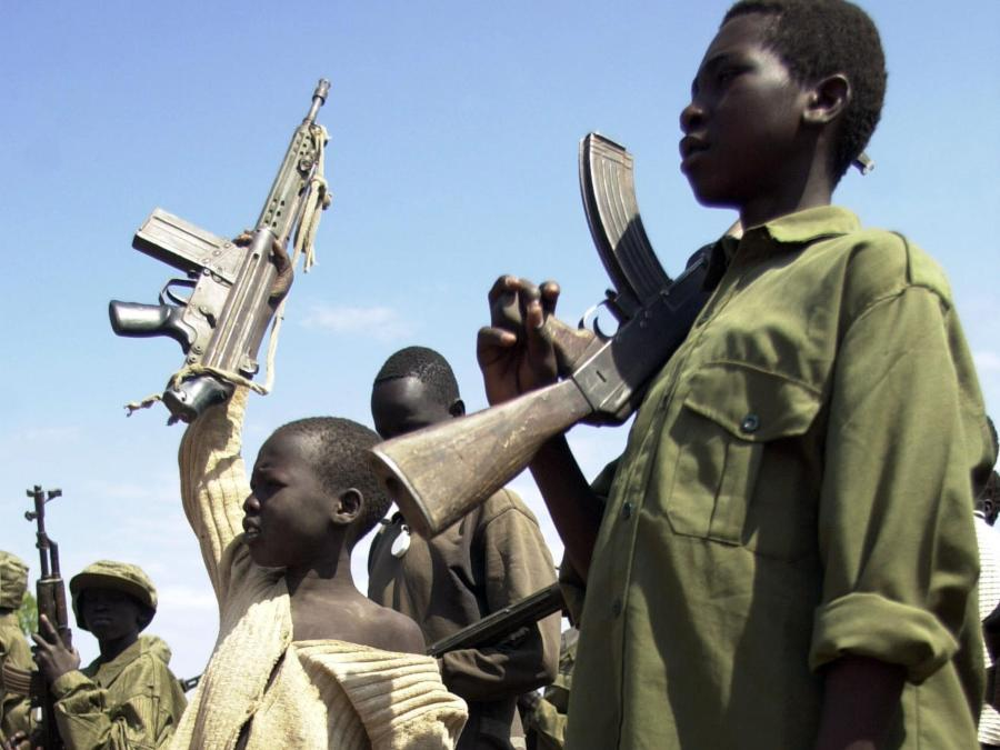 Civilian JTF frees 900 Nigerian child soldiers