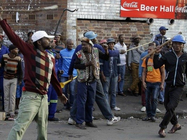 FILE Photo: Foreigners are being arrested in mass in South Africa