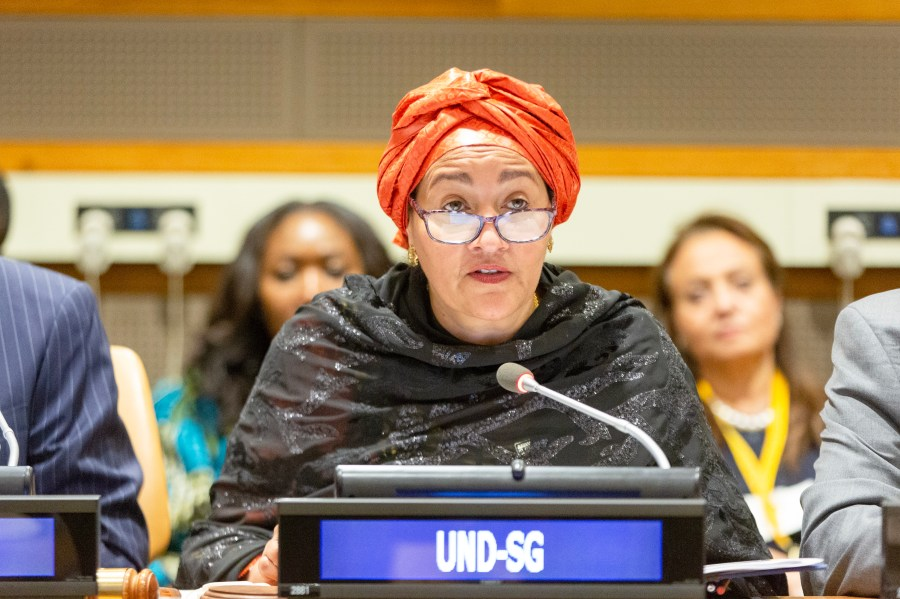 Nigerian, Amina Jane Mohammed, the current Deputy Secretary-General of the United Nations