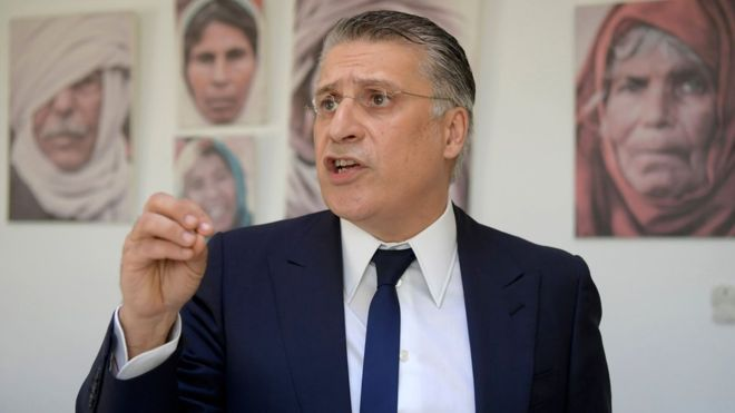 Nabil Karoui has reached a run-off in Tunisia's presidential election despite being in jail
