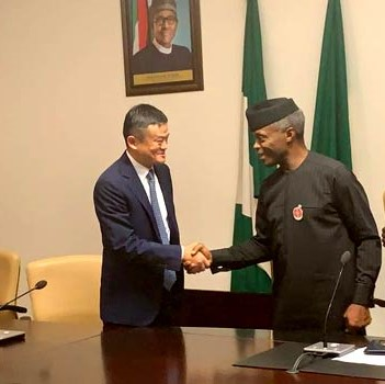 Alibaba CEO, Jack Ma, on Investment Mission to Nigeria