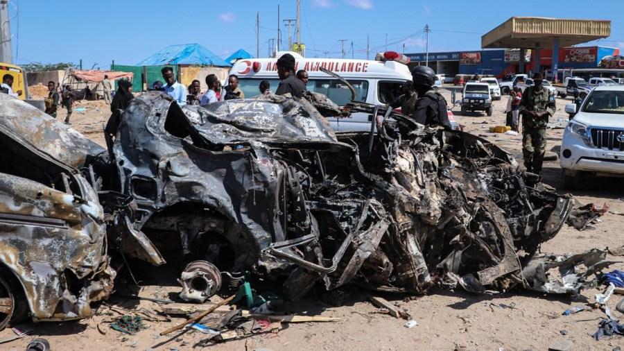 Al-Shabaab fingered in Somali blast, death tool higher than 80