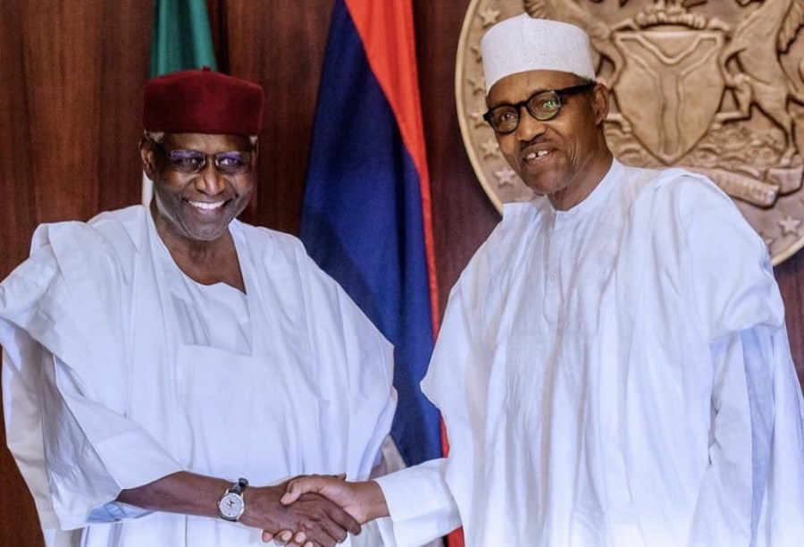 Buhari is probing late CoS, Abba Kyari, one month after demise