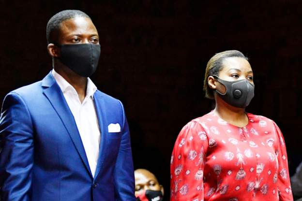 Shepherd Bushiri and his wife Mary were granted bail at the beginning of November. Credit BBC
