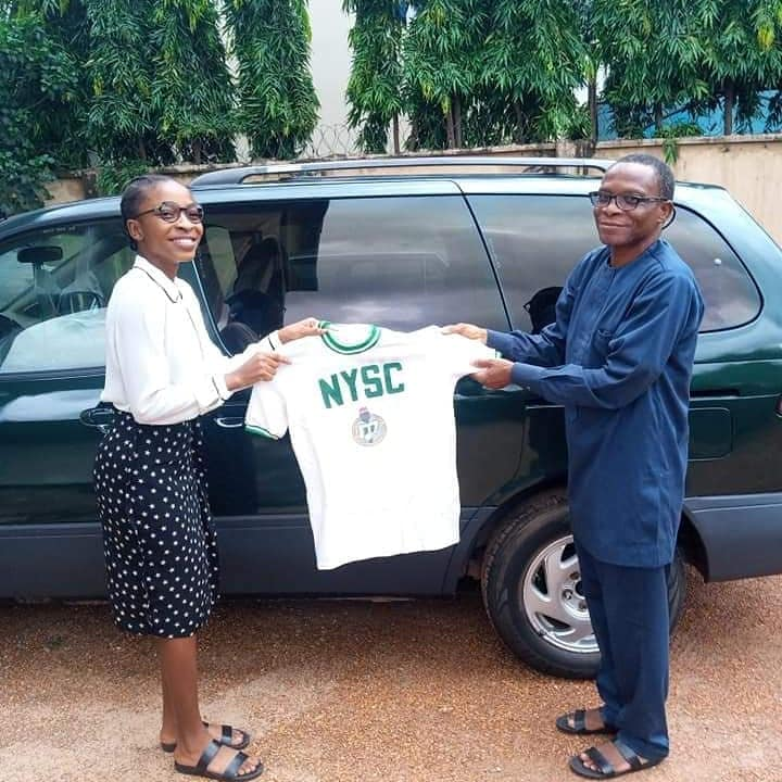 Nigerian Don preserves ceremonial uniform for 37years, gifts same to daughter