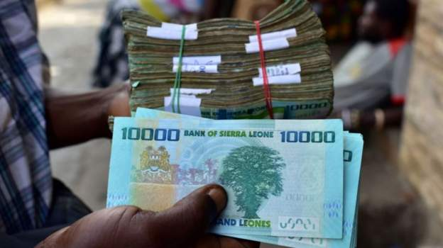 Sierra Leone devalues currency, drops 3 zeroes to achieve 10L to 1USD