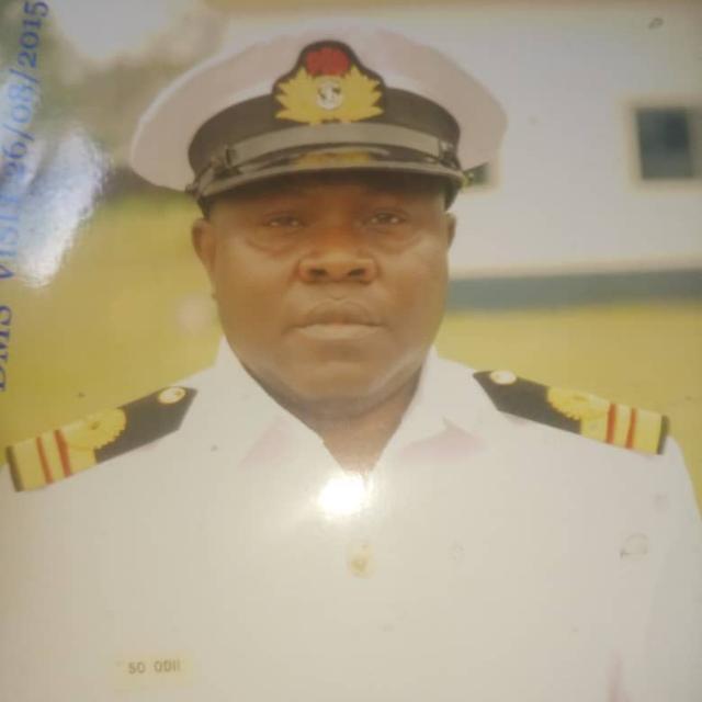 Late Surgeon Commander S.O Odii