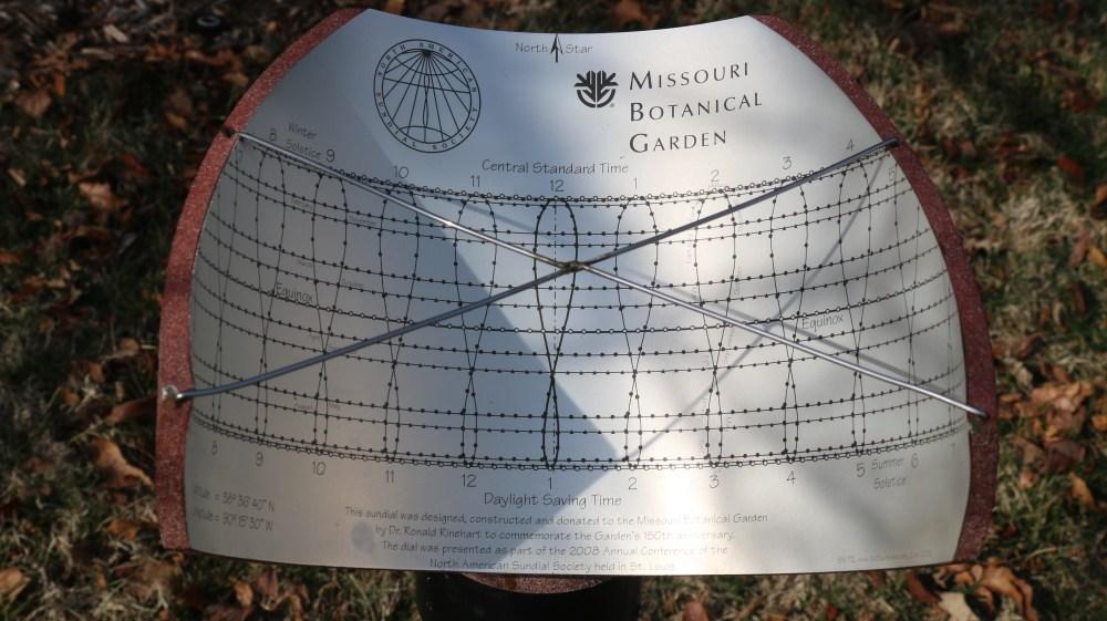 150th Anniversary Sundial