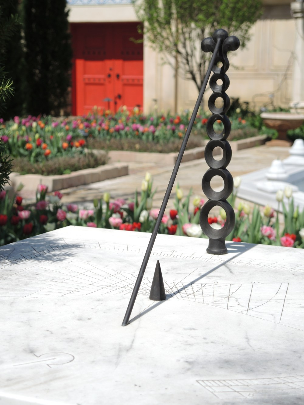 Sundial in Ottoman Garden