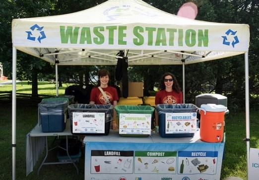 G-Fest Waste Station