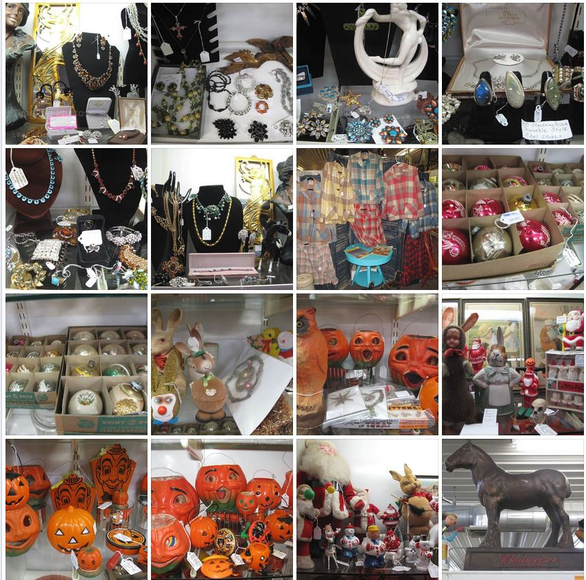 Wisconsin Dells Antique Mall Collage