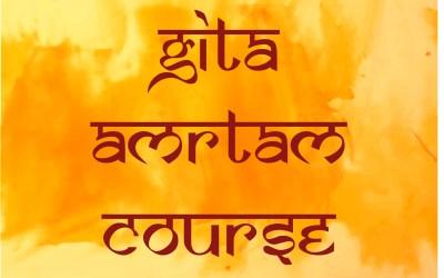 Gita Amrtam course