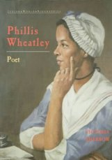 Book Cover with image of Phyllis Wheatley on it.