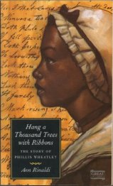 Book Cover with image of Phyllis Wheatley on it
