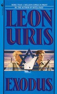 Leon Uris' Exodus book cover