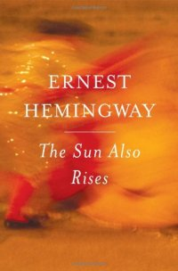 The Sun Also Rises by Ernest Hemingway book cover