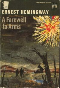 A Farewell to Arms by Ernest Hemingway book cover
