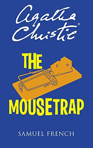 The Mousetrap by Agatha Christie book cover